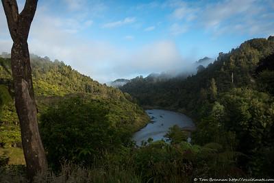 River view from Whakahoro
