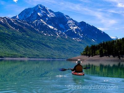 Eklutna Lake, Alaska