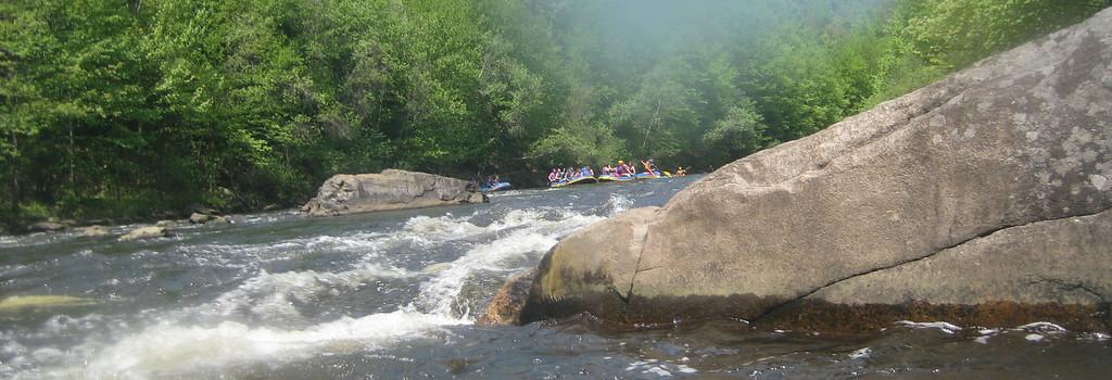 Benton High School Rafting