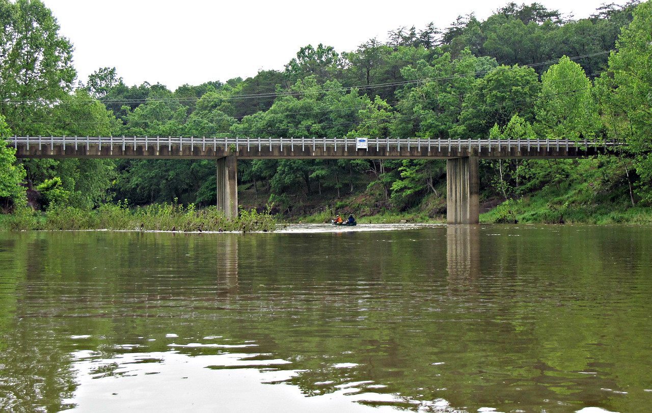 Our first bridge - Cacapon Crossing.