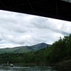 Ascutney again, from under the covered bridge.