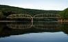 An old bridge - at Pond Eddy, I think.