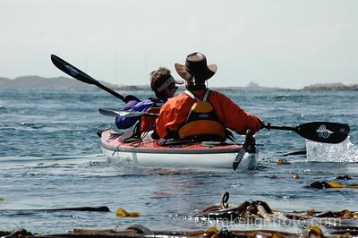 Kayaks near Discovery Island