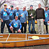 This year's paddlers plus Captain Dave J.  Left-to-Right all levels: Rick, Gary, Blake, Kev, Karl, Mike, Drew, Dave L., Dave J., Mark, Bill