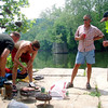 Iron Chefs on Concrete Island