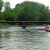 Low-Water Bridge at Oldtown - Karl and Dave J.