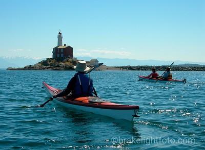 Kayaking Fisgard Lighthouse