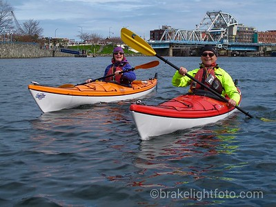 Kayakers in the Inner Harbour