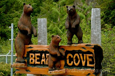 Bear Cove Sign