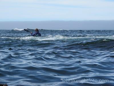 Rounding Cape Palmerston