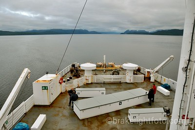 The Queen of Chilliwack approaching Lama Passage