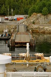 The Shearwater ferry dock