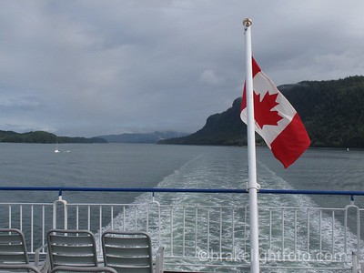 Leaving Prince Rupert on BC Ferries