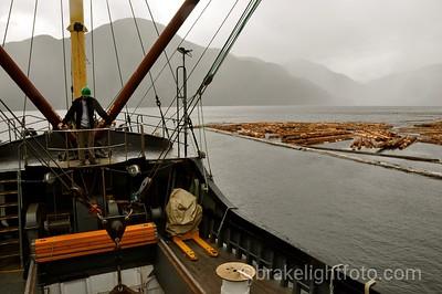 Loading Cargo in Gold River