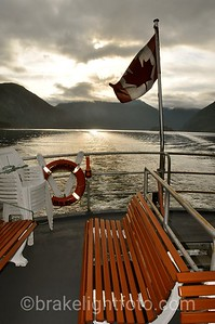 From the Stern of the Uchuck III