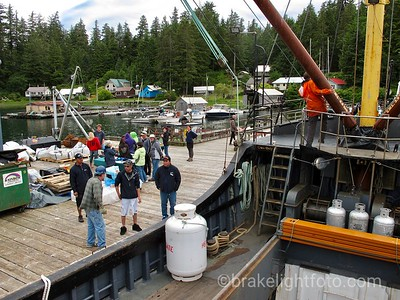 The Uchuck in Kyuquot