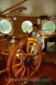 Uchuck III Wheel House