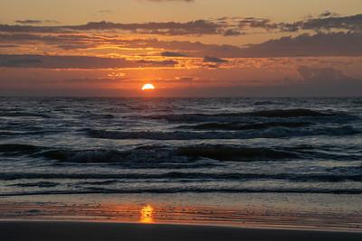 Padre October Sunrise
