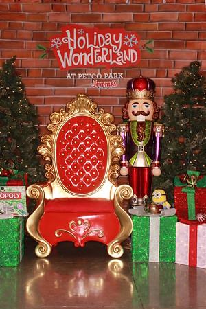 Padres Winter Wonderland