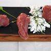 Boškinac Restaurant - Lamb Carpaccio, Fregola Sarda Pasta, Rosemary Powder