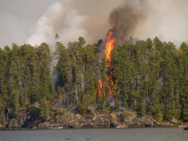 Pagami Creek Fire, 2011