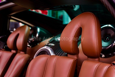 The Headrest of a Huayra