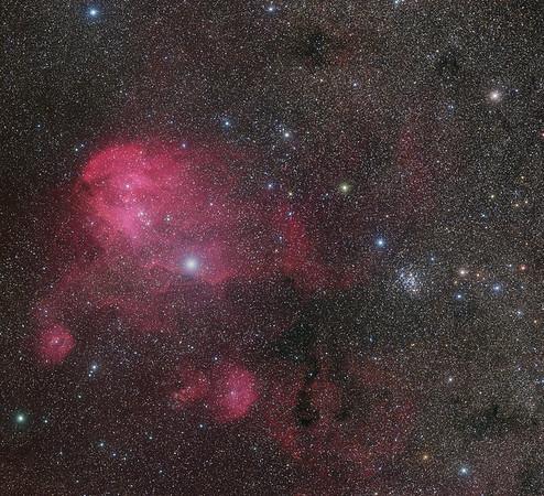 IC 2944 the Running Chicken LRGBHa