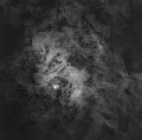 NGC 6604 in HA