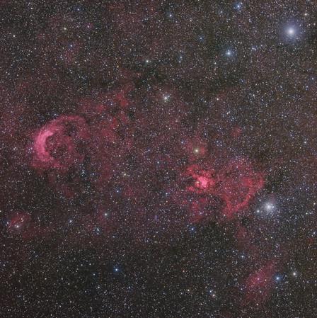 NGC 3199 and 3247