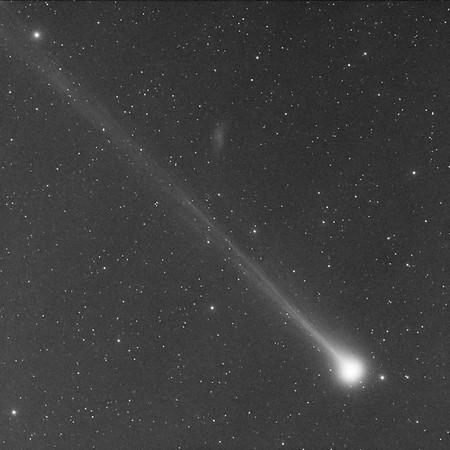 Comet C/2020 F8 SWAN timelapse