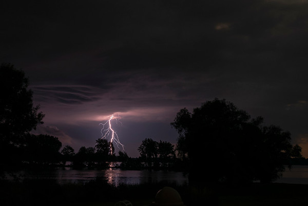 Lightning over West Lake 7/3/20