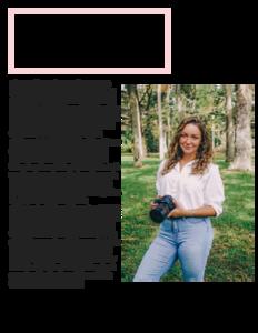Menswear Fashion Magazine Article Page