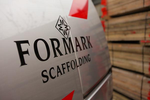 Formark Scaffolding Work Van
