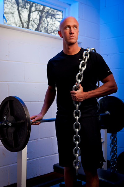 Young Male Personal Fitness Instructor portrait
