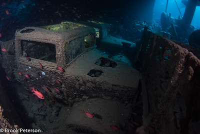 Trucks on the Thistlegorm