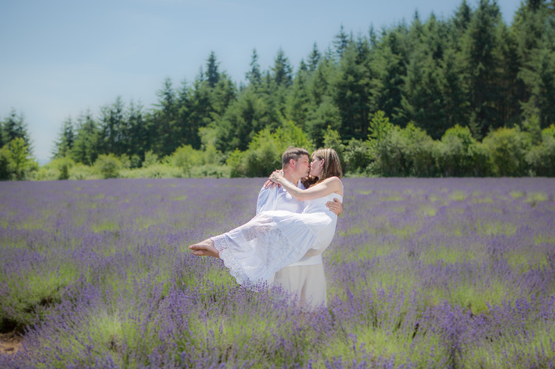 Oregon Lavender Farm Portraits