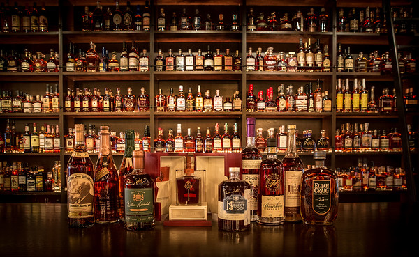 Westgate Bourbon Bar's Bourbon Selection
