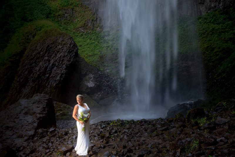 Latourel Falls Wedding