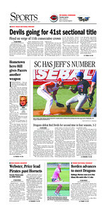 News and Tribune Sports Front page May 16, 2013
