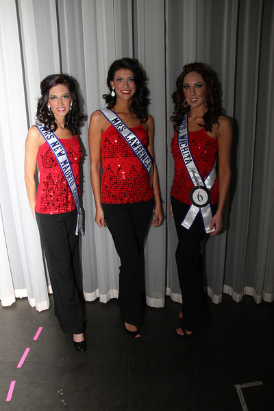 2013 Mrs Missouri America and Mrs Kansas America Pageant 1st half, Saturday, March 2, 2013<br /> Allison Davis (Mrs New Madrid County 2013), Elizabeth Stephens (Mrs Lawrence 2013) and Rachel Abdulaziz (Mrs Wichita 2013)