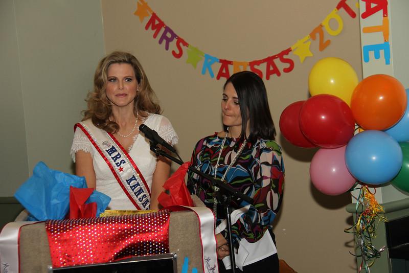 2013 Mrs Missouri America and Mrs Kansas America Pageant Awards Breakfast, Sunday, March 3, 2013