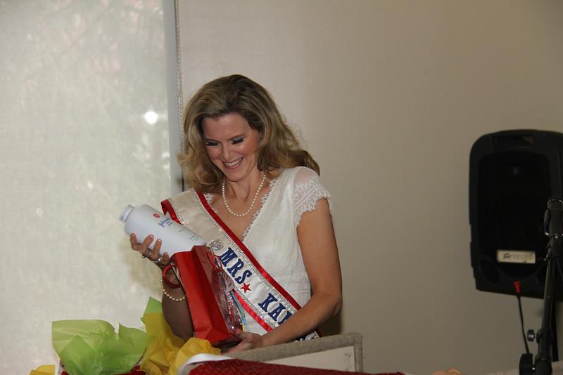 2013 Mrs Missouri America and Mrs Kansas America Pageant Awards Breakfast, Sunday, March 3, 2013<br /> Bobbie Padgett (Mrs Kansas America 2012)
