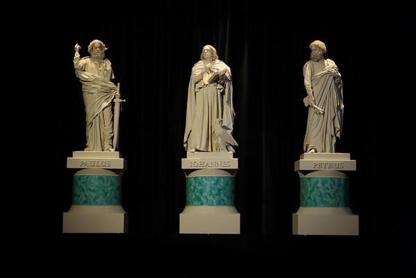 The Apostles Peter, John & Paul
