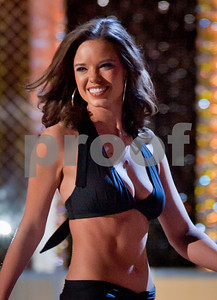 Miss Maine 2010 Arikka Knights durring the 2011 Swimsuit competition on Tuesday night.