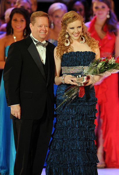 """Ali Rogers, Miss Laurens County, was crowned Miss South Carolina 2012 in front of a roaring crowd at Township Auditorium in Columbia, SC. A former Miss South Carolina Teen 2009, Rogers, 20, was a swimsuit preliminary winner. Rogers attends Clemson University. She performed an original composition for the piano entitled """"A Salute to our Armed Forces"""" for the talent competition. She will compete in the Miss America Pageant in January 2013 in Las Vegas.<br /> Rachel Wyatt, Miss Greater Mauldin Teen, was crowned Miss South Carolina Teen 2012. Wyatt is a17-year-old from Piedmont, SC. She attends Wren High School. She was a preliminary talent winner for her performance of a lyrical dance to """"The Climb."""" She will compete in Miss America's Outstanding Teen in August 2012 in Orlando, FL.<br /> GWINN DAVIS PHOTOS<br /> gwinndavisphotos.com (website)<br /> (864) 915-0411 (cell)<br /> gwinndavis@gmail.com  (e-mail) <br /> Gwinn Davis (FaceBook)"""