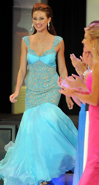"Sydney Sill, Miss Greater Greer Teen, shown competing in the Miss South Carolina Teen Pageant in July, is now Miss South Carolina Teen.<br /> Sydney Sill is replacing Rachel Wyatt, who was crowned Saturday as Miss America's Outstanding Teen 2013 during a pageant in Orlando. Wyatt has to vacate her state crown to travel across the country serving as Miss America's Outstanding Teen.<br /> Sill, 16, a junior at Byrnes, was first runner-up and recipient of a $5,000 scholarship at the 2012 Miss South Carolina Teen Pageant in July, where she competed as Miss Greater Greer Teen.<br /> Ali Rogers, Miss Laurens County, was crowned Miss South Carolina 2012 in front of a roaring crowd at Township Auditorium in Columbia, SC. A former Miss South Carolina Teen 2009, Rogers, 20, was a swimsuit preliminary winner. Rogers attends Clemson University. She performed an original composition for the piano entitled ""A Salute to our Armed Forces"" for the talent competition. She will compete in the Miss America Pageant in January 2013 in Las Vegas.<br /> Rachel Wyatt, Miss Greater Mauldin Teen, was crowned Miss South Carolina Teen 2012. Wyatt is a17-year-old from Piedmont, SC. She attends Wren High School. She was a preliminary talent winner for her performance of a lyrical dance to ""The Climb."" She will compete in Miss America's Outstanding Teen in August 2012 in Orlando, FL.<br /> GWINN DAVIS PHOTOS<br /> gwinndavisphotos.com (website)<br /> (864) 915-0411 (cell)<br /> gwinndavis@gmail.com  (e-mail) <br /> Gwinn Davis (FaceBook)"