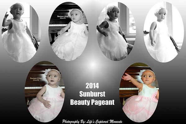 2014 Sunburst Beauty Pageant Photo Collages