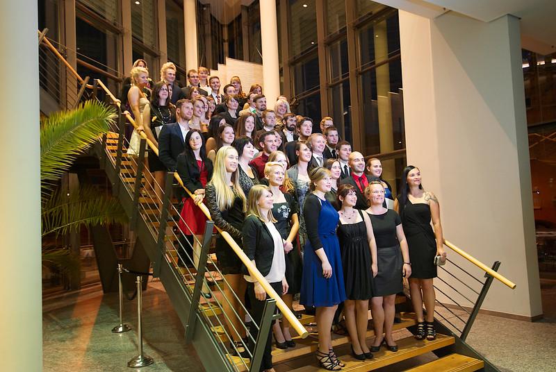 Exmatrikulationsfeier 2014 in der Händel-Halle