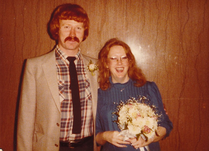 Larry Blyth and Ruth,  1982?