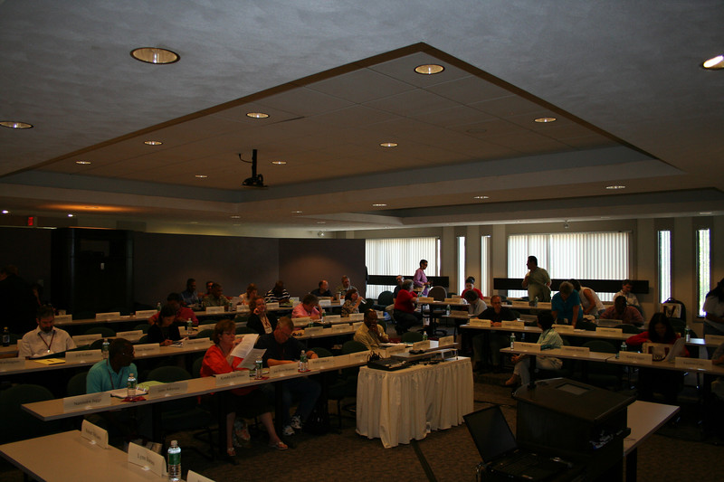 The MDP classroom at the Episcopal Divinity School